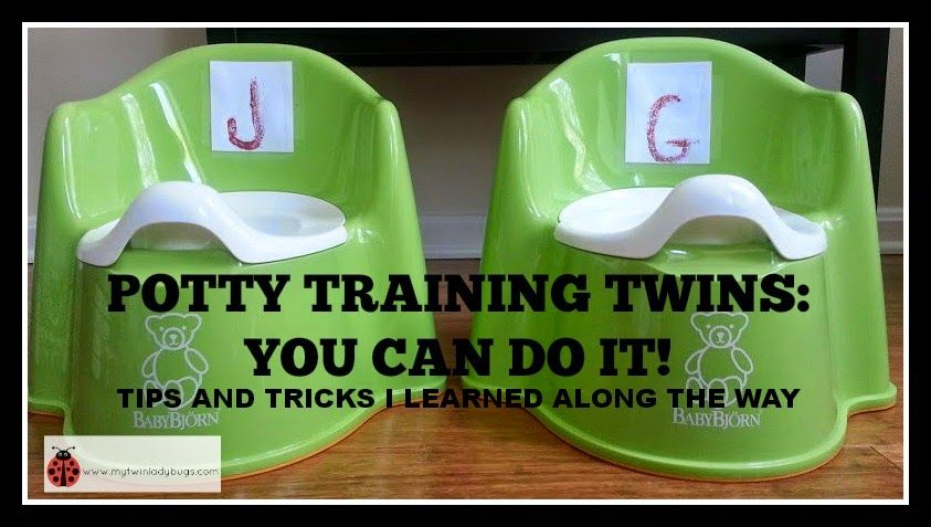 Potty Training Twins: Tips and Tricks I Learned Along The Way | My Twin Ladybugs