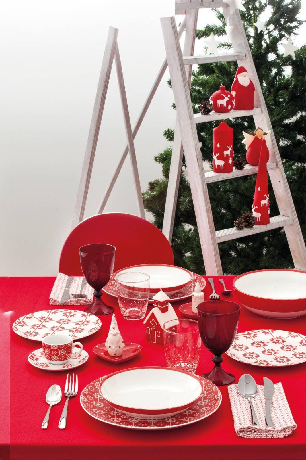 Tavola Per Natale Foto tavola di natale: 10 proposte in colori e stili diversi