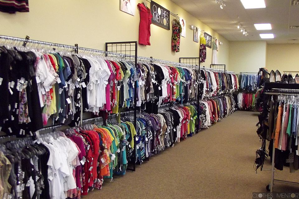 Inside our Clothes Mentor women's clothing resale shop in Highland Village, TX  http://www.facebook.com/ClothesMentorHighlandVillage
