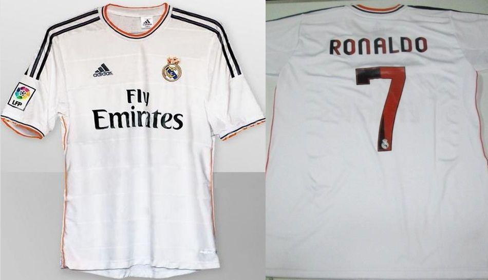FOTOS: las nuevas camisetas del Real Madrid con bordes naranjas y la azul parecida a la del Chelsea FC