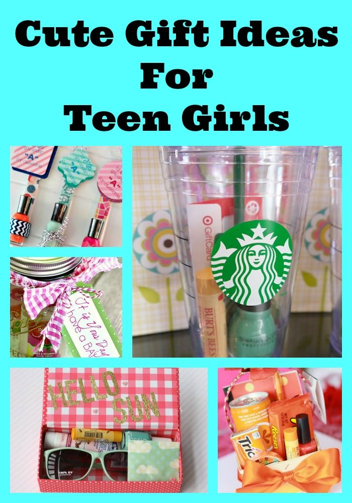 Cute Gift Ideas For Teens Gifts Pinterest Gifts Diy Gifts And