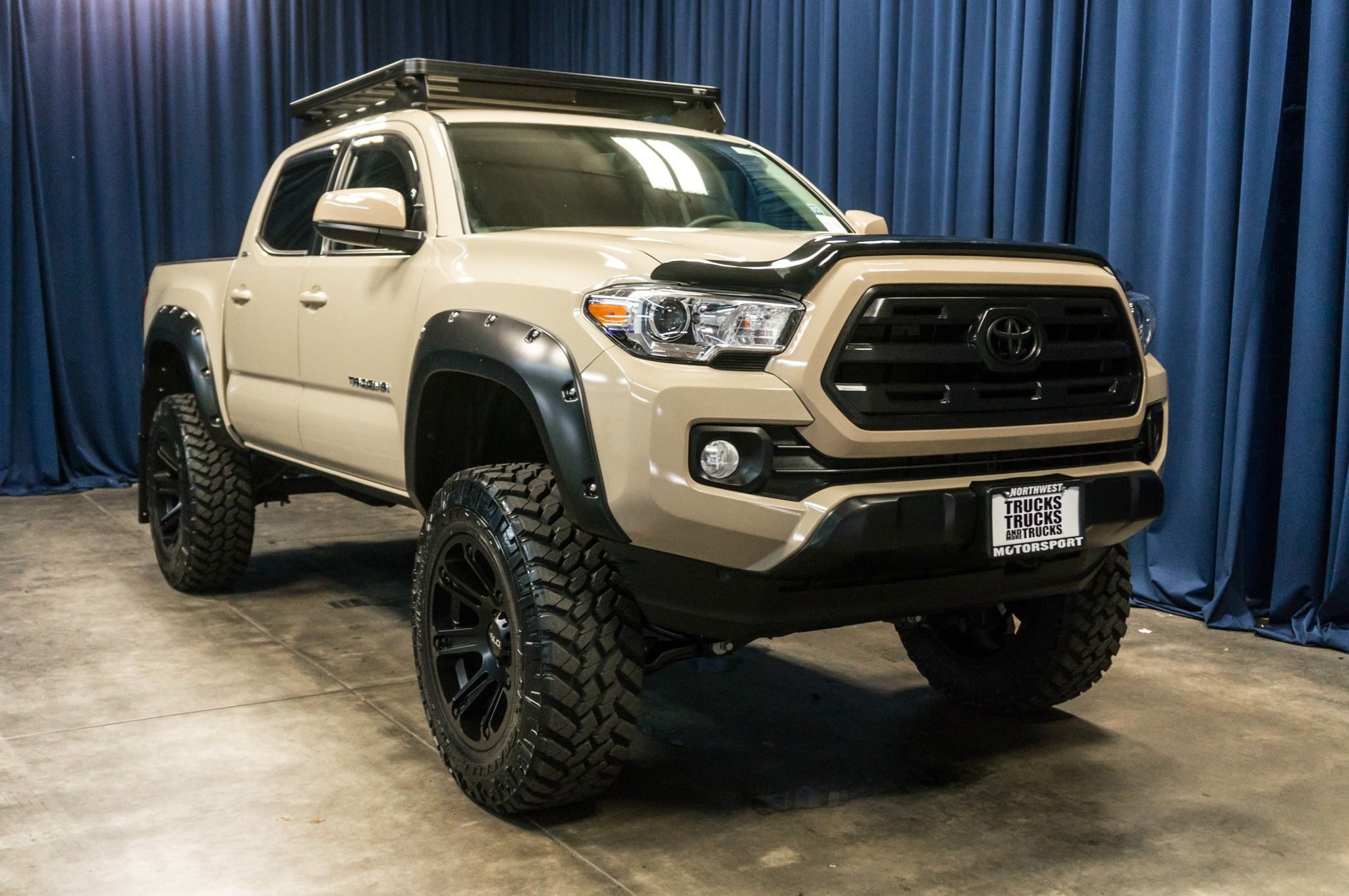 Lifted 2016 Toyota Tacoma Sr5 4x4 With Images Toyota Tacoma