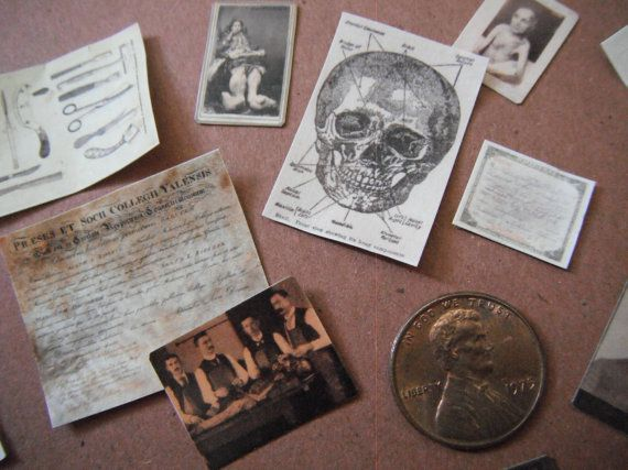 Miniature Medical Ephemera #miniaturemedical