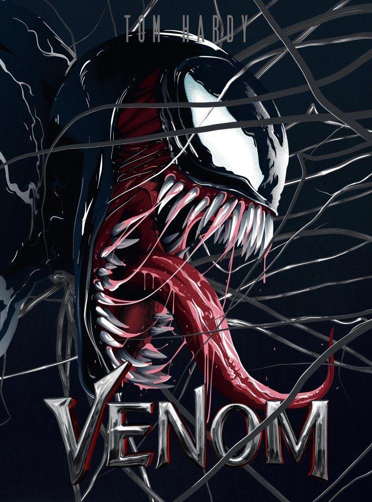Venom 2018 by Eladio II Custodio | Best hero | Venom 2018, Marvel
