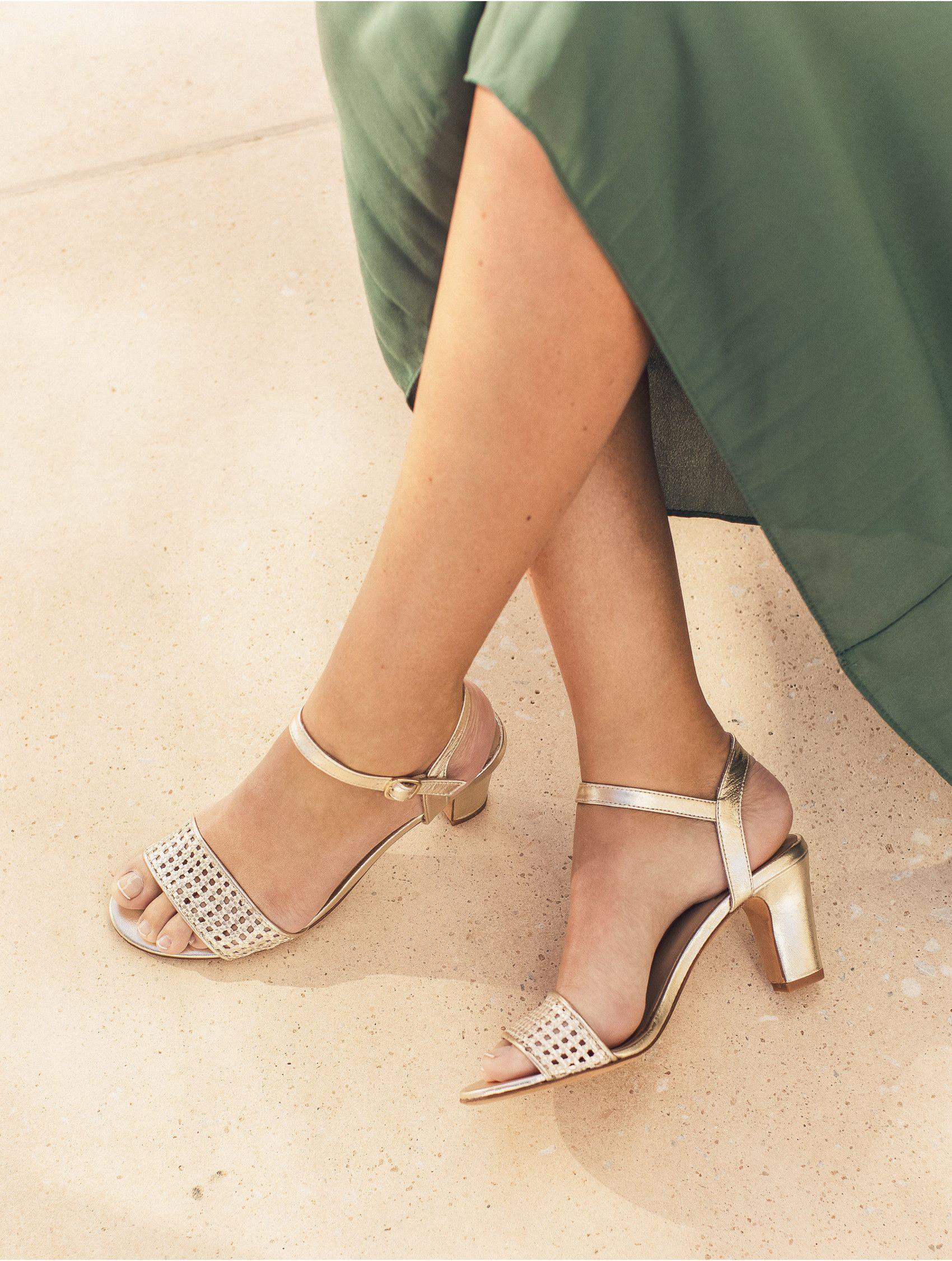 Sandales à Talon & Escarpins Le Bijou Doré | Sandales à