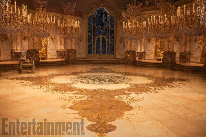 Take A Look Inside The Creation Of The Ballroom For Beauty And The