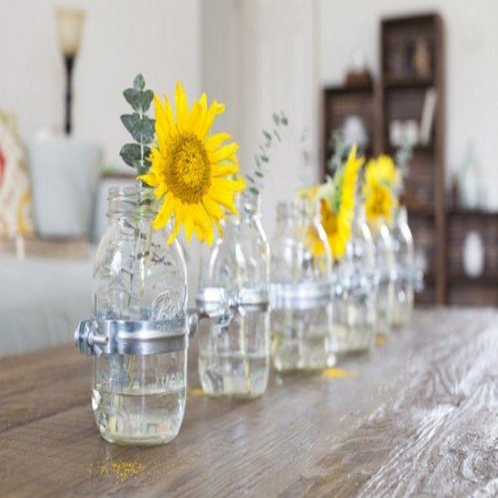Mason Jar Home Decor Ideas Diy Beautiful Mason Jars Home Décor Ideas  Mason Jar Vases And