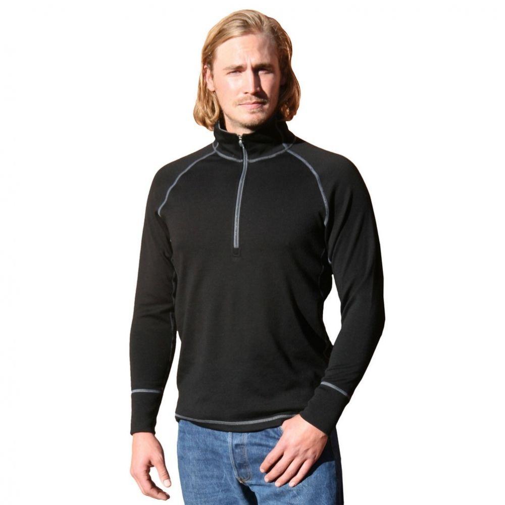 Woolx Heavyweight 1/4 Zip. | http://www.woolx.com/
