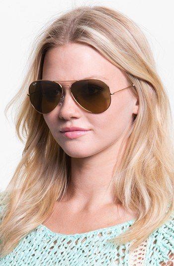 ray ban aviator sunglasses large