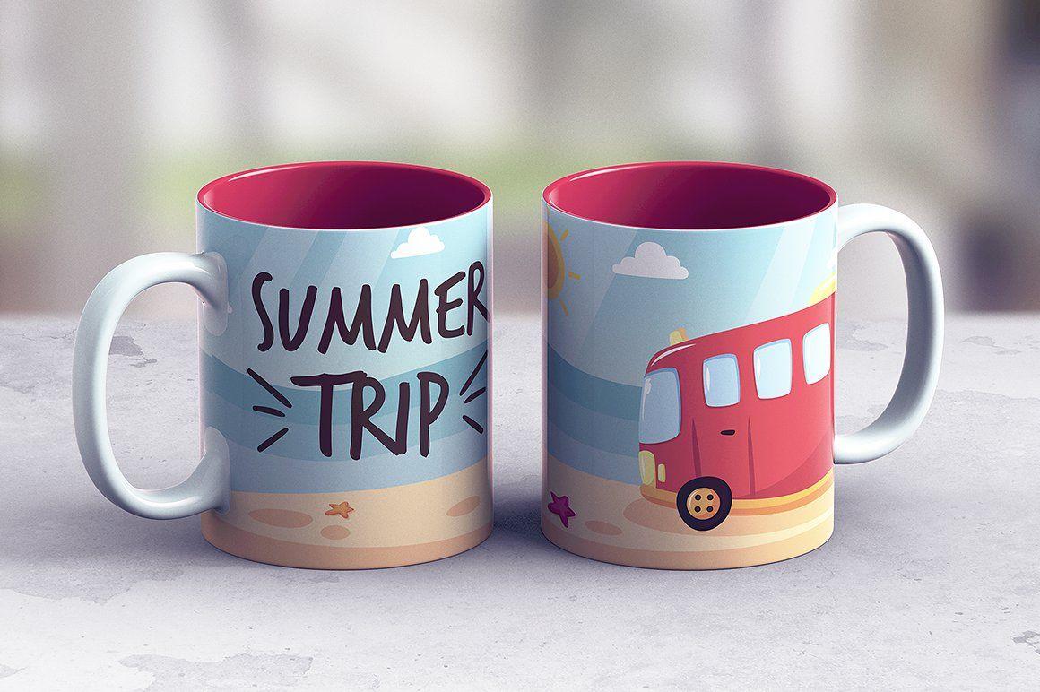 Full Wrap Mug Mockup Mugs Mockup Make It Yourself