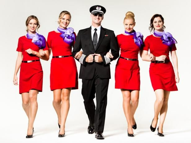 Mile-High Fashion: Flight Attendant Uniforms   Around the worlds ...