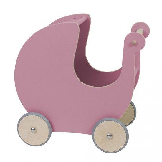 Dukkevogn, rosa
