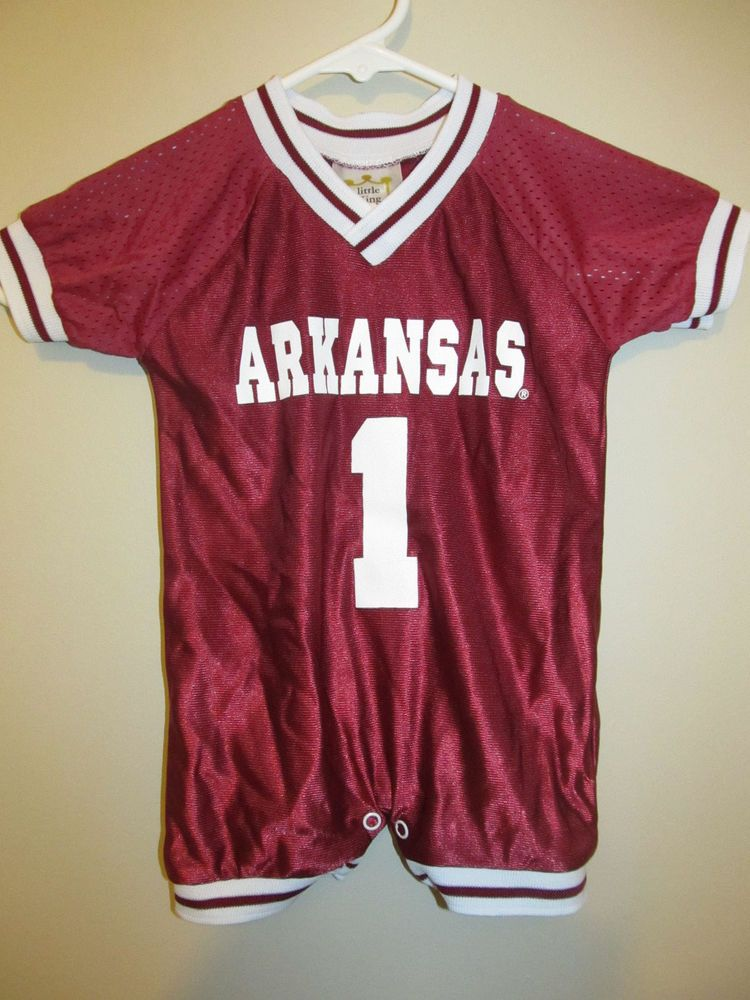 Arkansas razorbacks football jersey infant 12 months