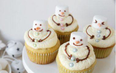 10 ideas para decorar cupcakes en Navidad