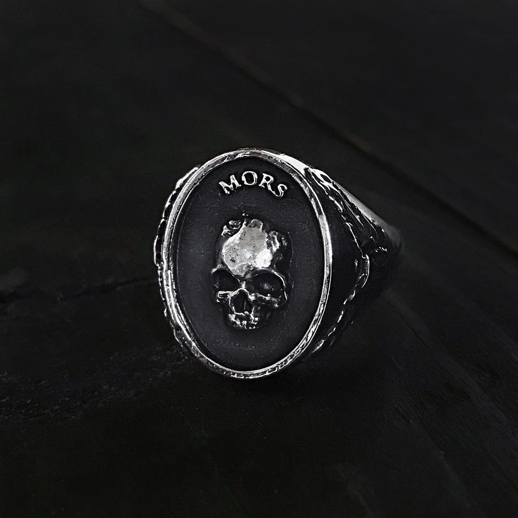 Mors Signet Style Ring