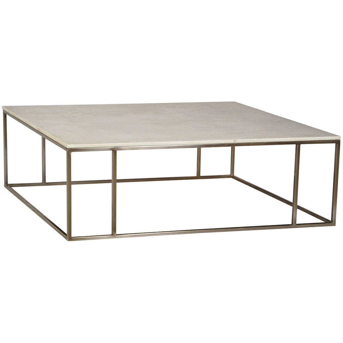 Dovetail sinclair coffee table large square coffee table