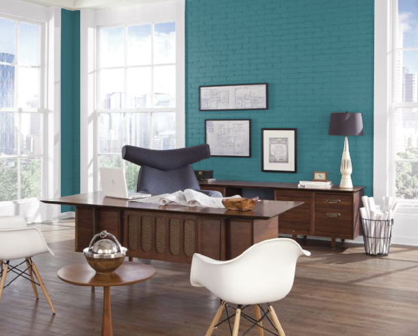 office color sherwin williams grand canal paint good on good wall colors for office id=28779