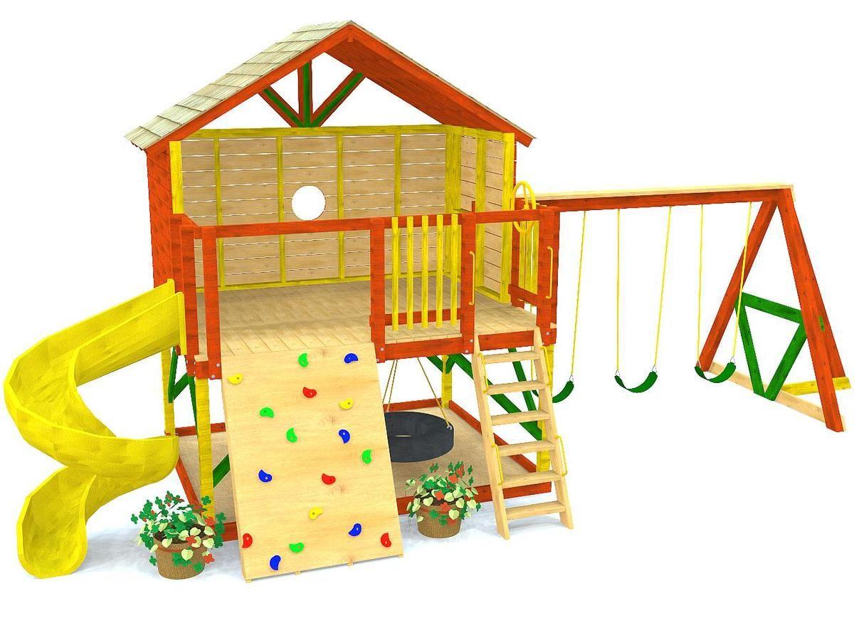 Petite Retreat Clubhouse Plan   Backyard for kids, Play ...