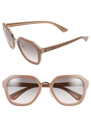a352ac8a33 Prada 55mm Angular Sunglasses available at  Nordstrom