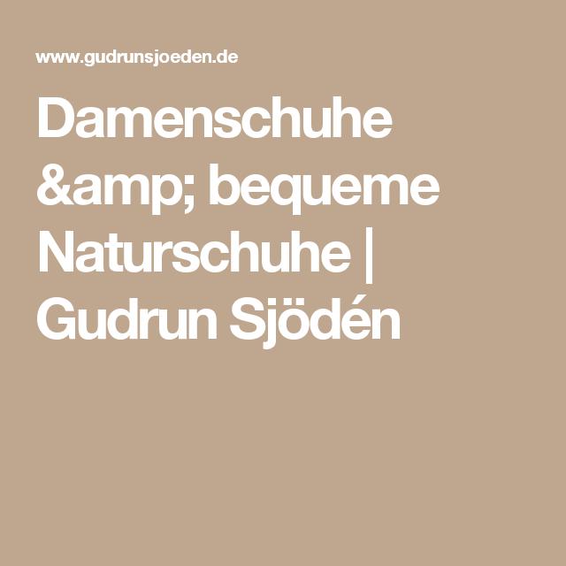 Damenschuhe & bequeme Naturschuhe | Gudrun Sjödén