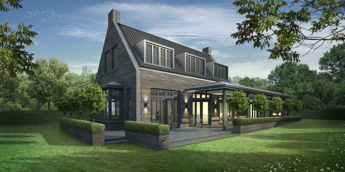 Landelijk eigentijdse hoeve maren kessel in het buitengebied van maren kessel is een woning - Zie in het moderne huis ...