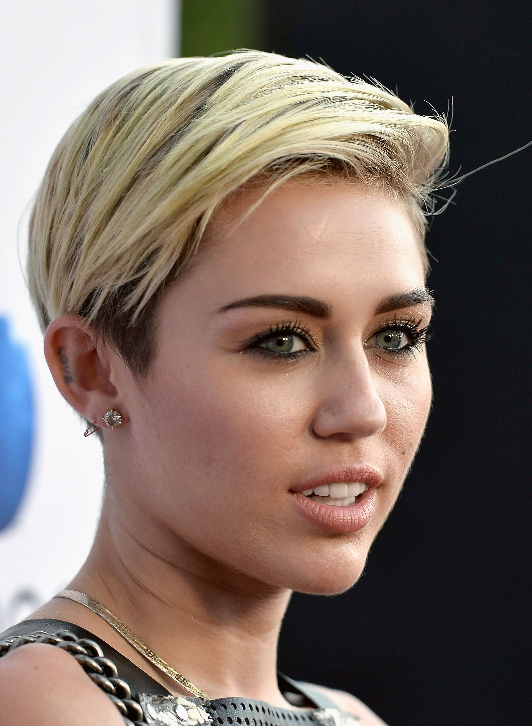 from Russell miley cyrus fake short hair