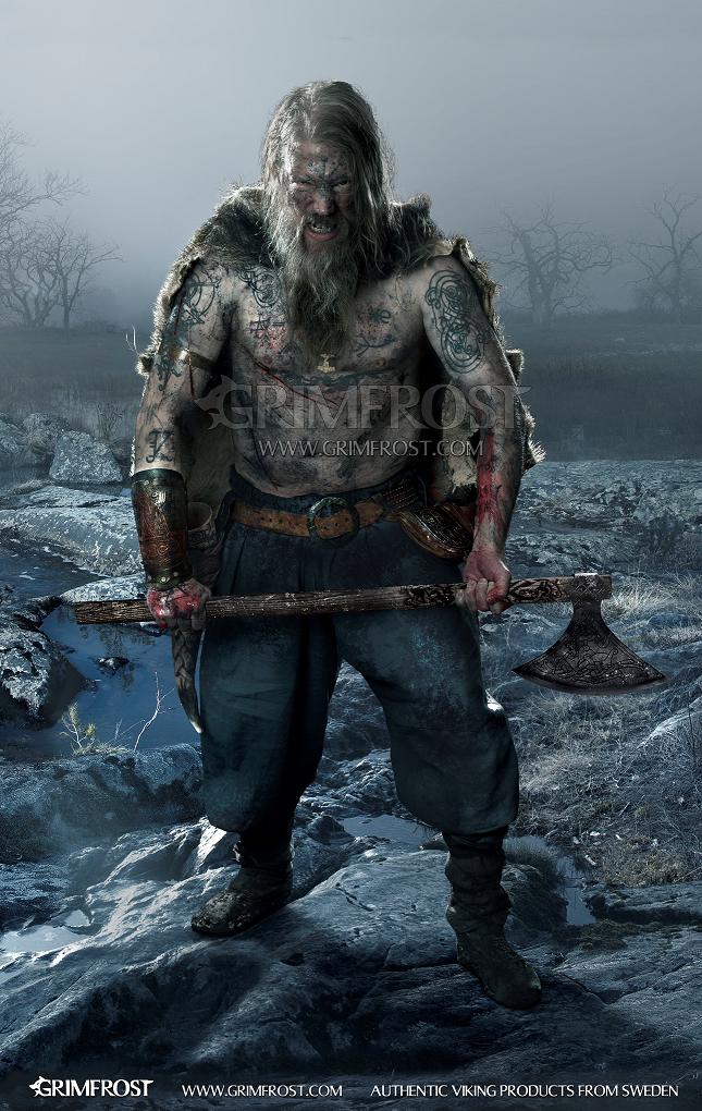 This plant may have made Vikings go berserk before battle ...  Viking Berserker