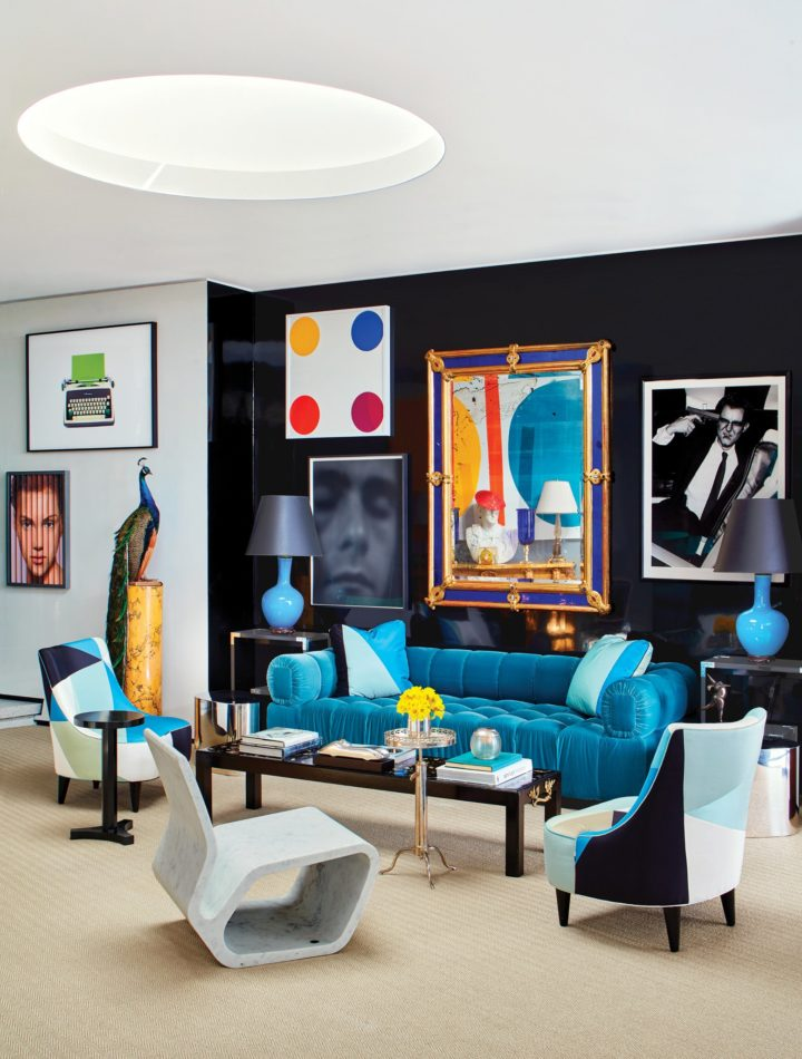 29 Creative Homes with Art Hung on Salon-Style Gal