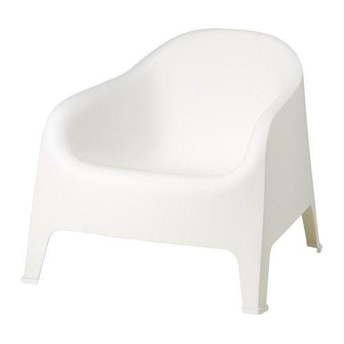 Sessel ikea weiß  IKEA - SKARPÖ, Sessel/außen, weiß, , , Durch die Öffnung im Sitz ...