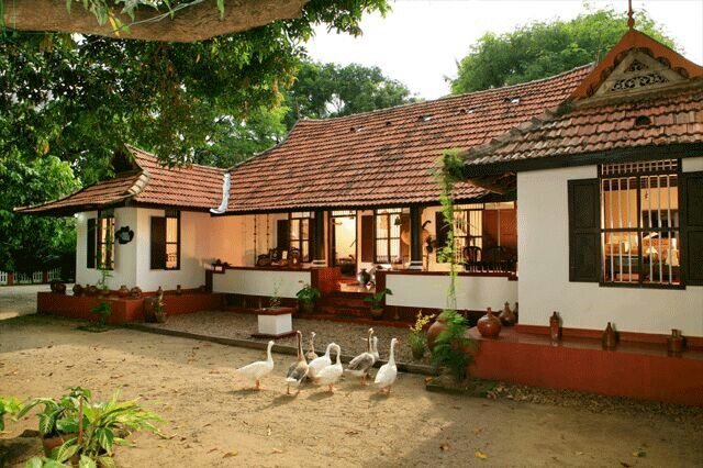 My Dream Country House Village House Design Kerala House Design Farmhouse Style House