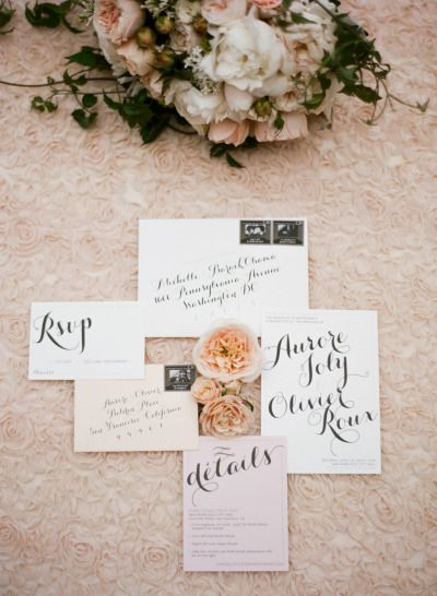 Gallery & Inspiration | Category - Invitations | Picture - 1204553 - Style Me Pretty