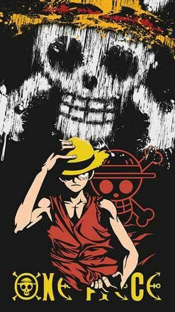 Monkey D Luffy Wallpaper Seni Anime Ilustrasi Komik Artis Bertato