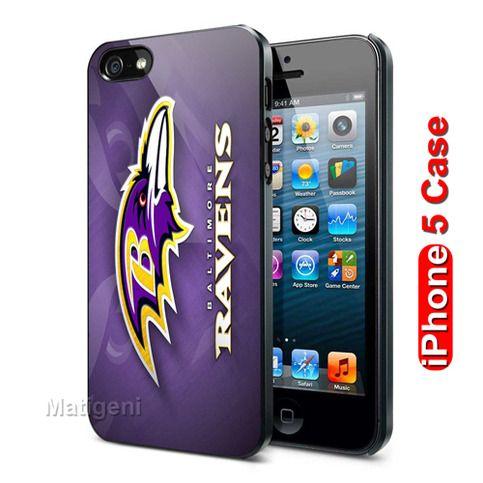 Baltimore Ravens Logo Custom iPhone 5 Case Cover