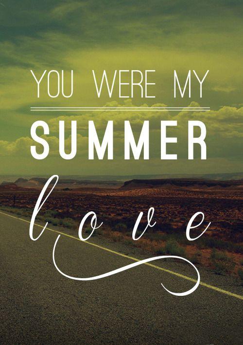 Summer Love Quotes Custom Summer Love Tumblr We Heart It Hopeless Romantic Pinterest