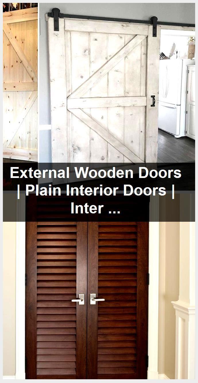 Photo of External Wooden Doors | Plain Interior Doors | Interior Door Sizes,  #door #doors #External #…