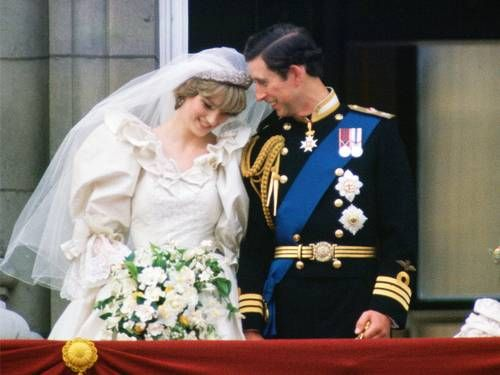 First Look: Princess Diana's Wedding Gown Steals the Show ...