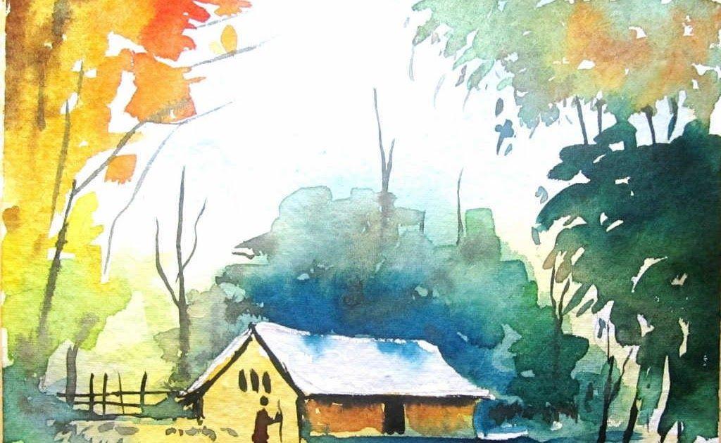 25+ Lukisan Kanvas Pemandangan Malam di 2020 (Dengan