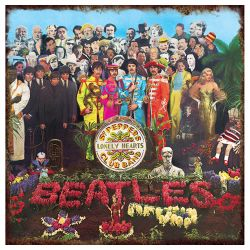 """The Beatles """"Sgt. Pepper's"""" Album Cover Heavy Gauge Metal Sign Our price: $14.49"""