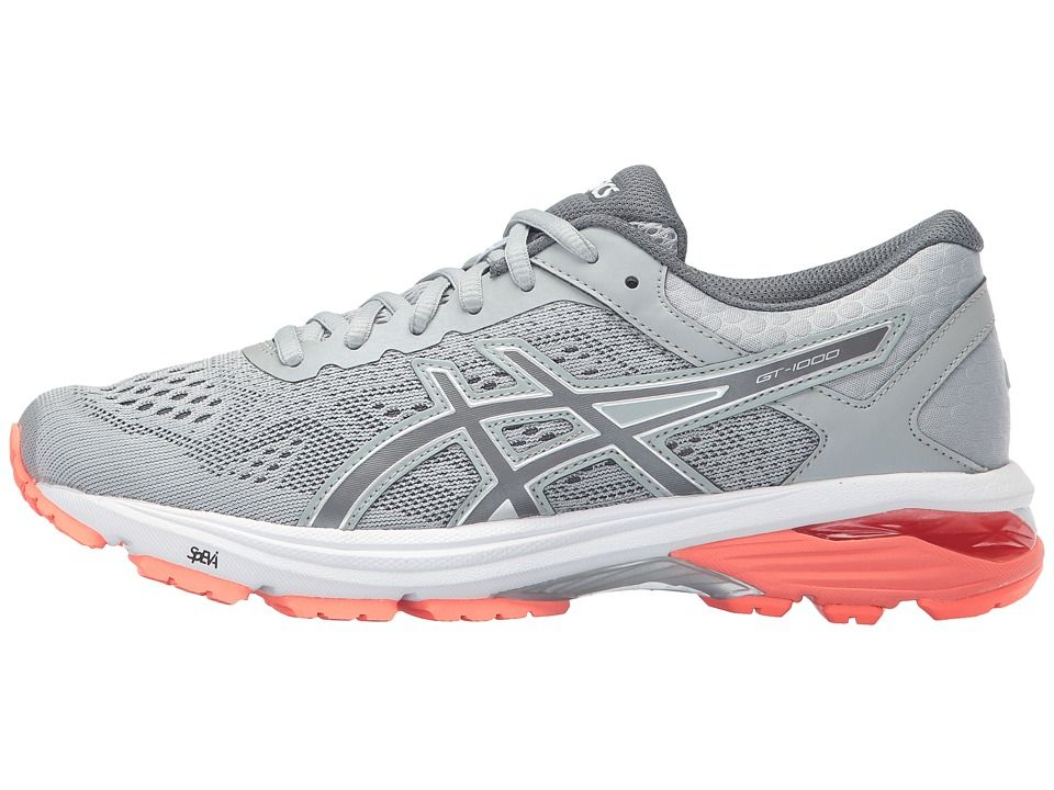ASICS GT 1000 6 Women's Running Shoes Mid GreyCarbonFlash
