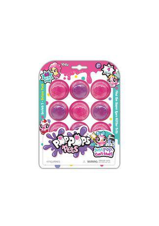 Pop Pops Pets Deluxe Pack Pink Pop Pop Cans Walmart