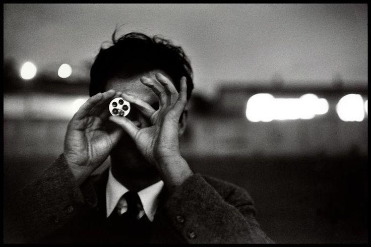 hauntedbystorytelling:    Elliott Erwitt :: Ernst Haas, San Francisco, CA, 1955     more [+] by E. Erwitt        more [+] by E. Haas