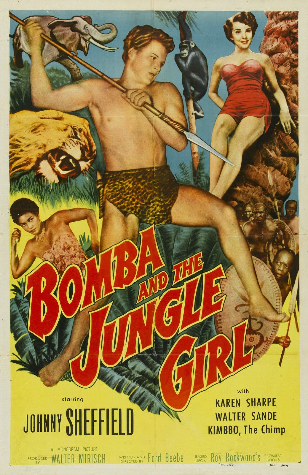 Download Bomba and the Jungle Girl Full-Movie Free