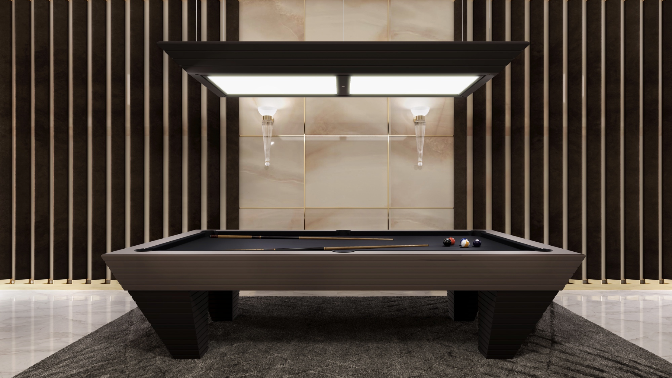 Charming Vismara Design American Pool Table From Luxury Entertainment Collection. A  Masterpiece Of Artisan Skill Linked