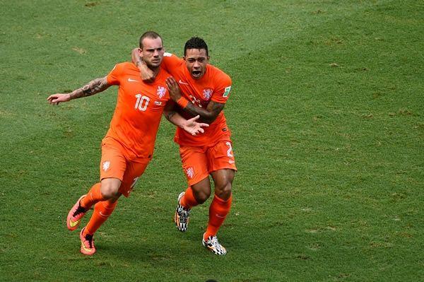 el 1-1 de Sneijder al 88'