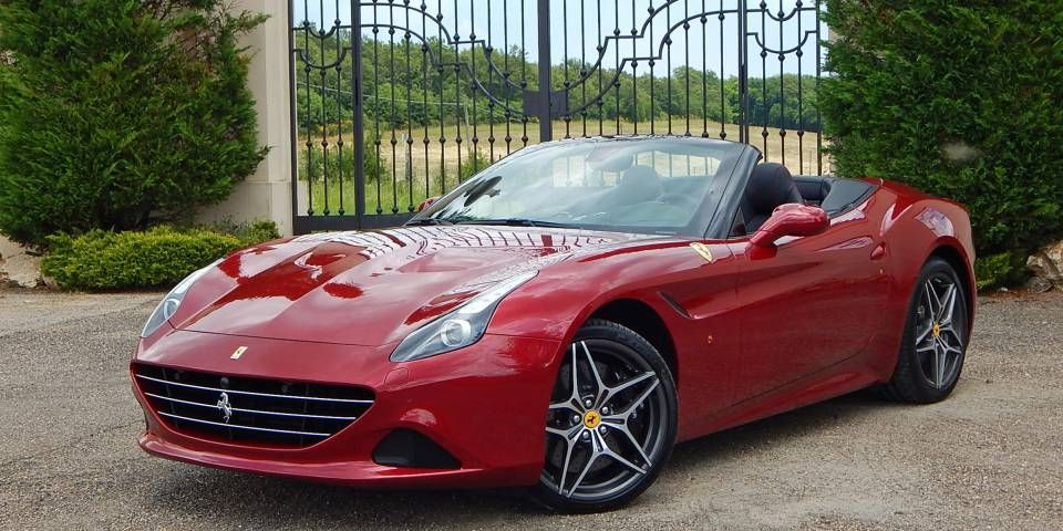 Supercar Review 2015 Ferrari California T Автомобили