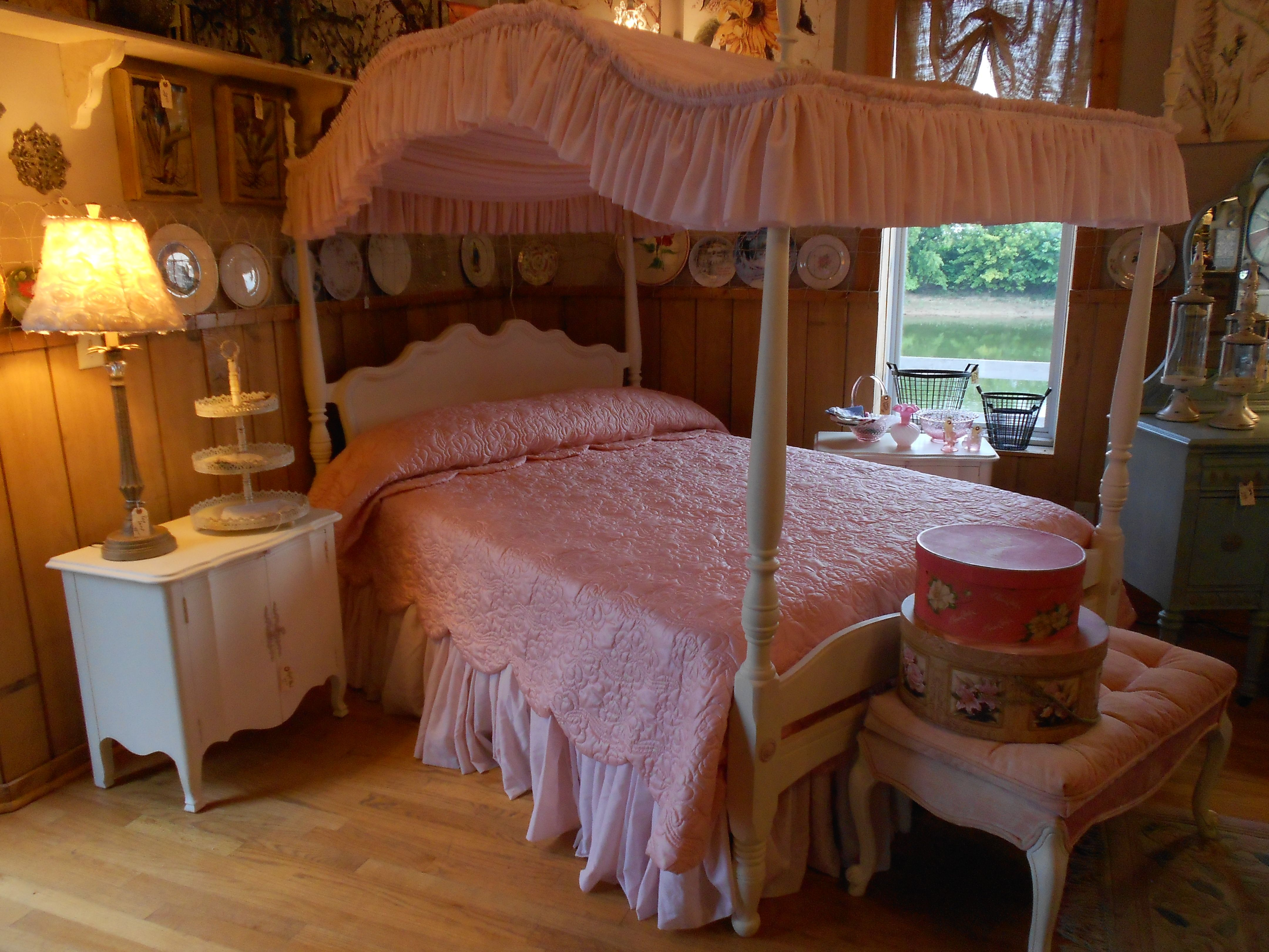 Image result for little girls french provincial bedroom with canopy bed