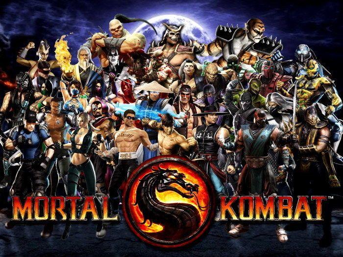 $5 95 - Mortal Kombat 9 Characters Art Gigantic Print Poster #ebay