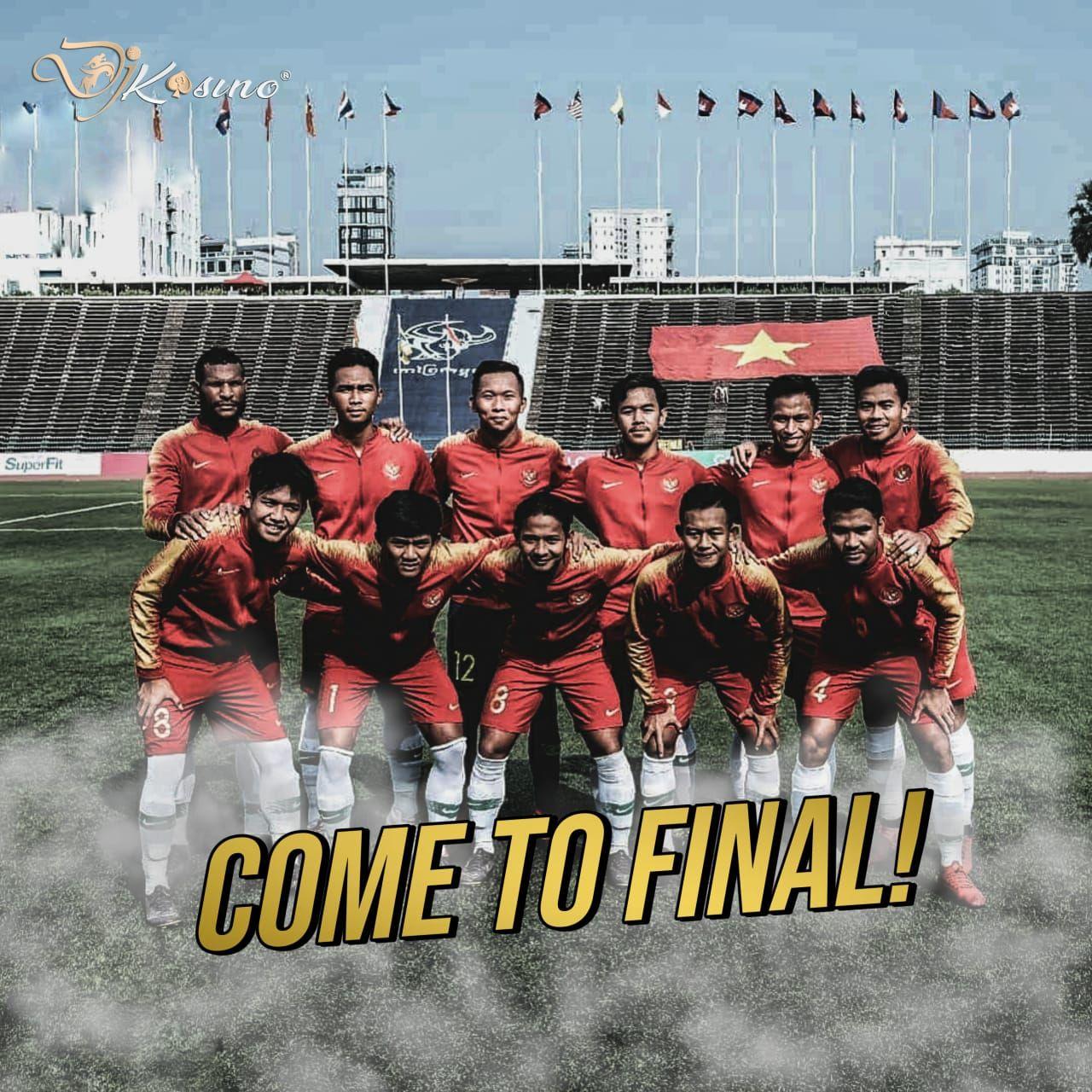 Indonesia melaju kebabak Final Piala AFF U22 2019 setelah