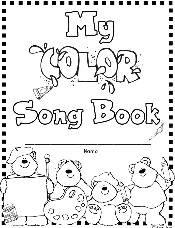Mrs. Solis's Teaching Treasures: Color Song Posters and