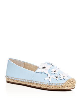 4e6a8354fa56 MICHAEL MICHAEL KORS Lola Flower Appliqué Espadrille Flats.   michaelmichaelkors  shoes  flats